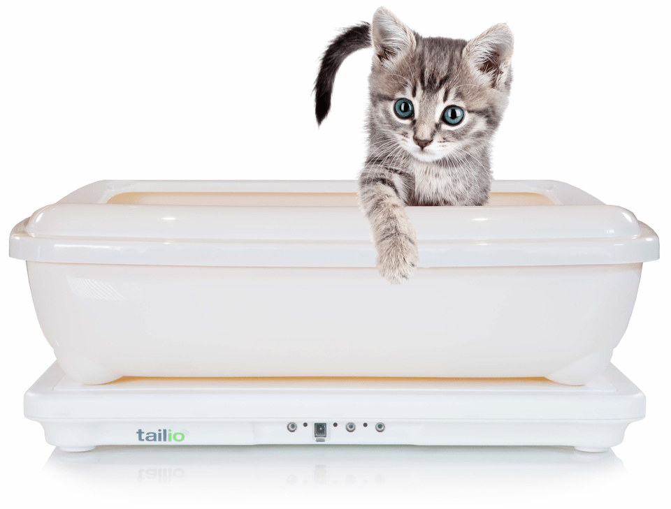 High tech cat litter boxes by Talio