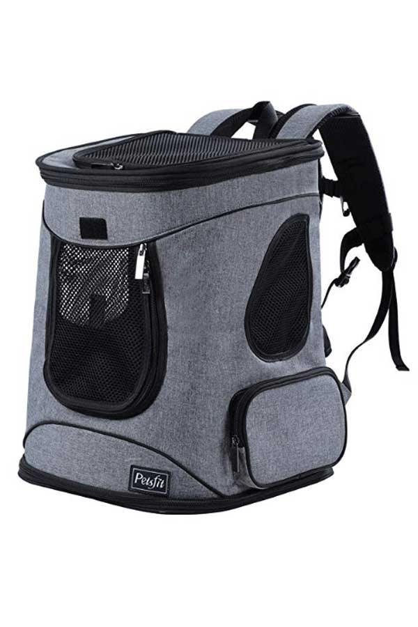 Cat Backpack for pets by Petsfit on Amazon