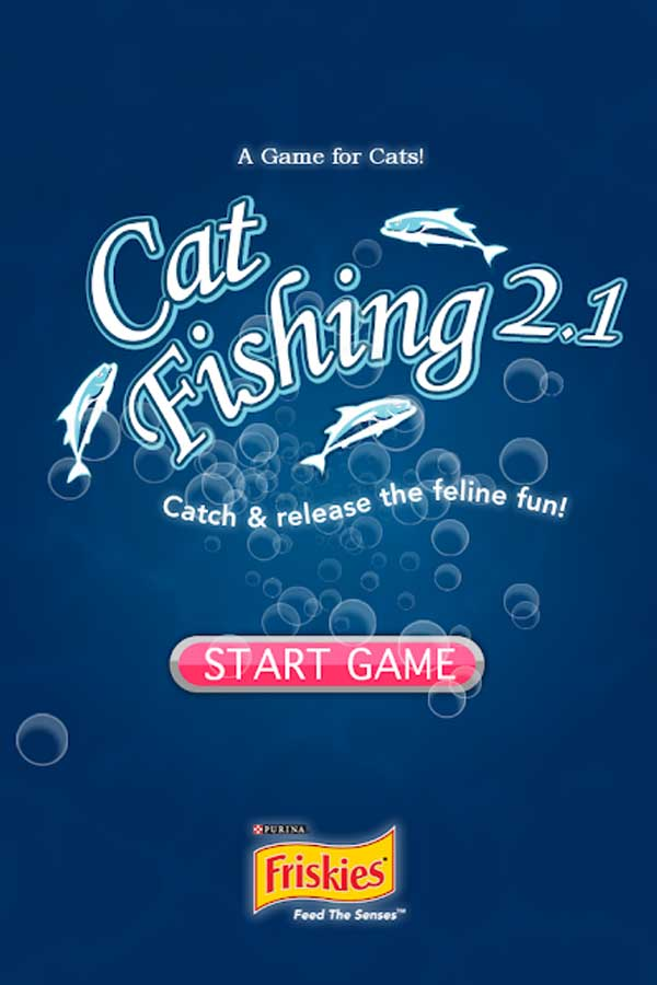 Games for cats apps Friskies CatFishing 2