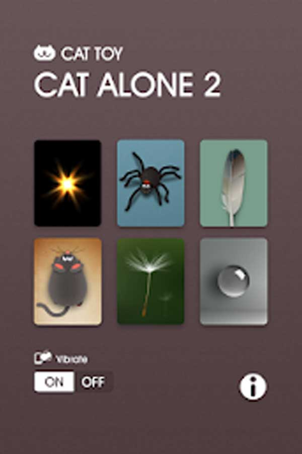 App for cat to play Cat Alone 2
