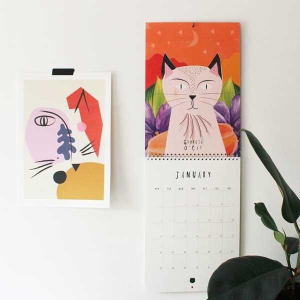 2020 Cat Artists Calendar
