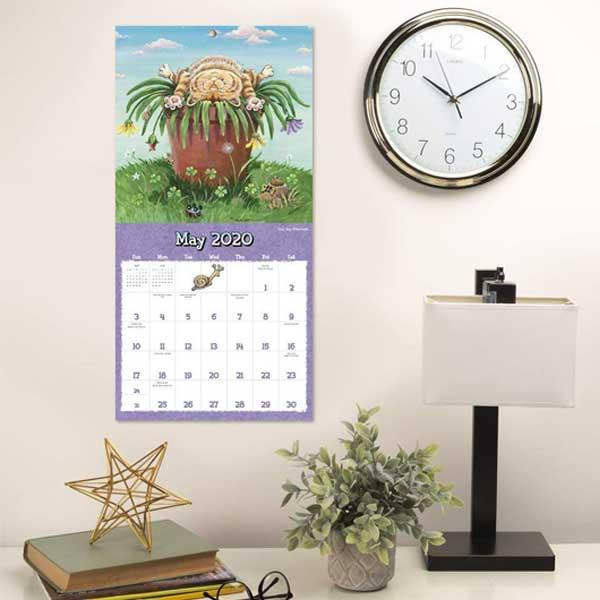 2020 Gary Patterson Cats Wall Calendar