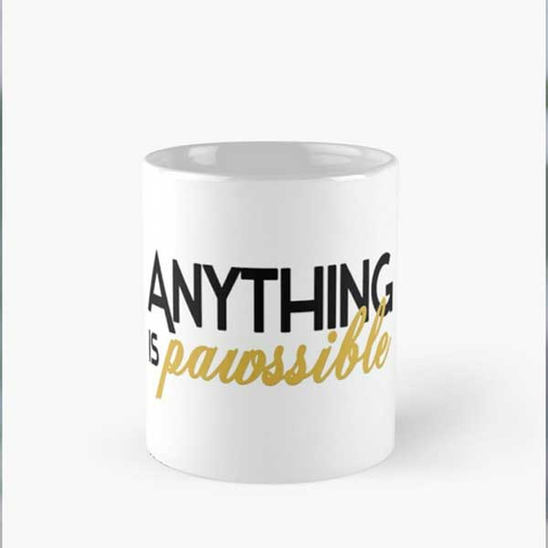 A crazy cat mug for those who knows that everyning is possible