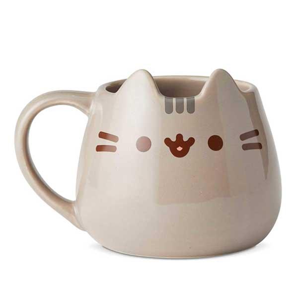 A cute Pusheen cat mug on Amazon