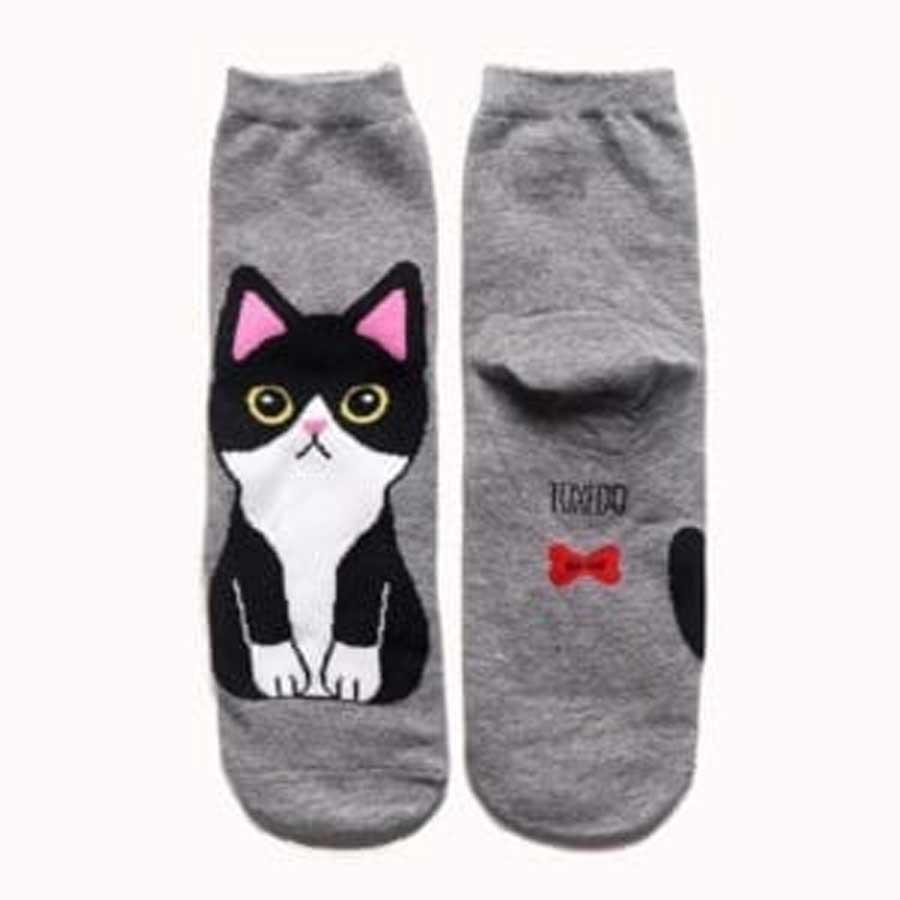 Siamese cat socks