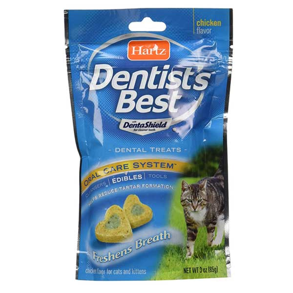 Hartz Dentists best dental treats for cats