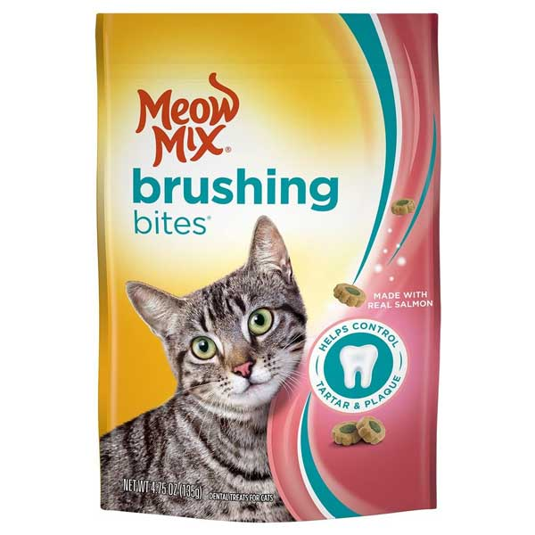 Meos Mix Brushing bites (dental treats) for cats