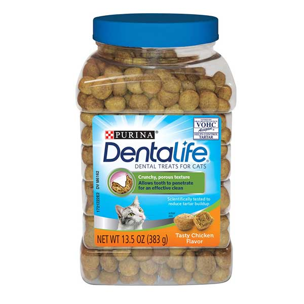 Dental Life dental treats for cats by Purina